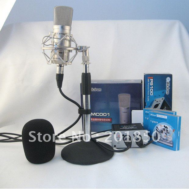 wholesale EMS Shipping Microphone Alctron MC 460 FET condenser microphone,recording microphone
