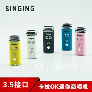 New 3.5mm MINI Pocket Microphone Earphone Jack Karaoke Player Home Works with for iPhone MP3 MP4 ipad free shipping