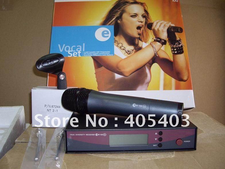 Free shipping 2pcs/ Lots  EW135G2 UHF Wireless Microphone system