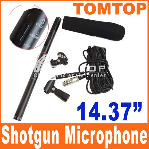Professional Shotgun Microphone Mic for Sony Camcorder D83 Free Shipping