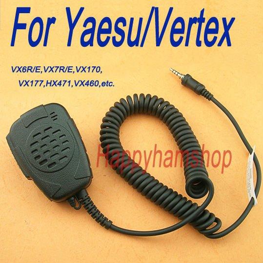 Rainproof Speaker mic for Yaesu Vertex radio VX6R/E VX7R/E VX170 VX177