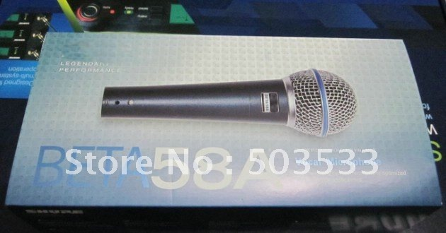 Free shipping New box beta58 58A  Microphone Wired vocal Microphone Top quality 1pcs