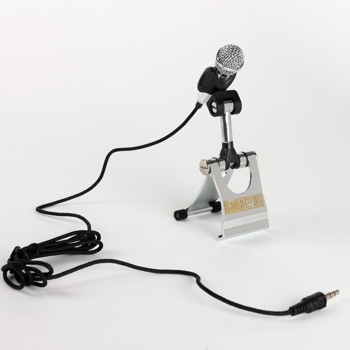 High Quality  New Professional Mic for PC, Dynamic Microphone, Wired microphone