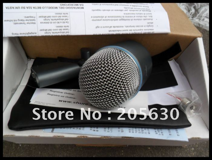 New Boxed 52a Wire Mic Without Switch Free shipping 1pcs