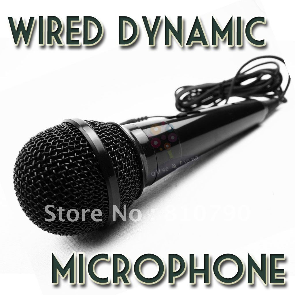 Free shipping! New Professional Mic for PC, Dynamic Microphone, Wired microphone