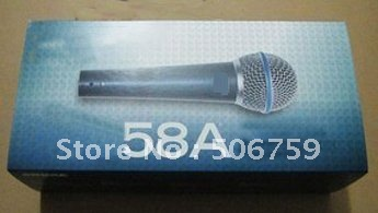 free shipping hot sales New product wired microphone microphone 58-a  2pcs