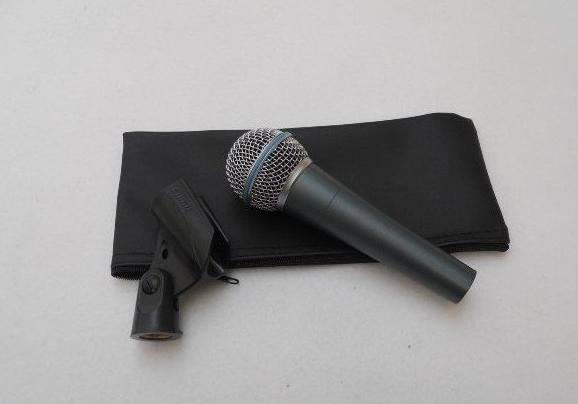 free shipping wholesale New Boxed 58A Wired Microphone The Best Quality
