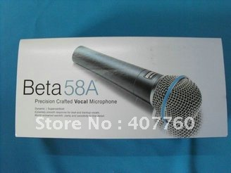 Free shipping  beta58 58A wired vocal handheld microphone 10pcs