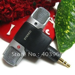ECM-DS70p Mini Microphone, Mini Stereo Microphone, free shipping!