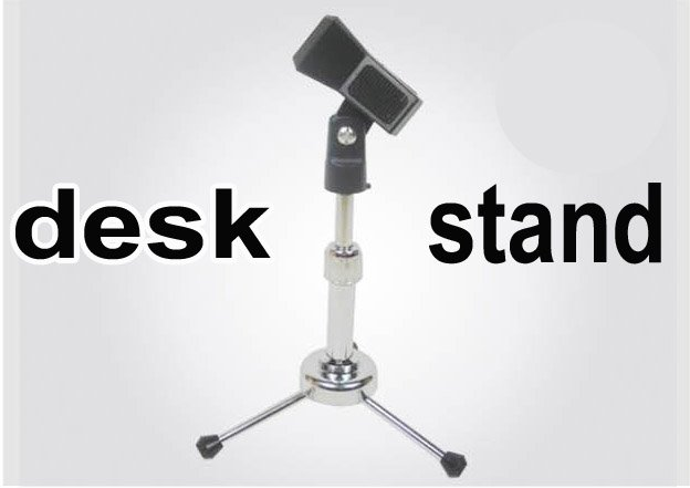 ST202 DESK universal clip MIC stand for Condenser Microphone & all Handheld MIC