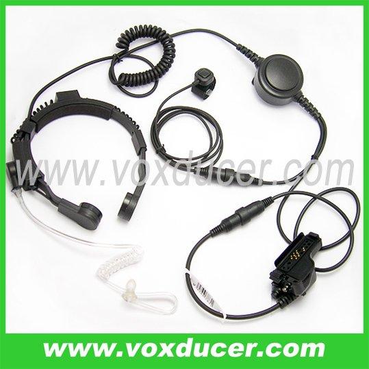 For Motorola walkie talkie XTS5000 5100 7700 throat mic
