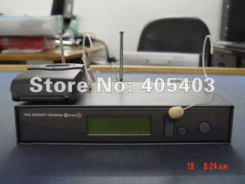 Free shipping EW322 G2 / EW300 G2 head set  wireless microphones Systems