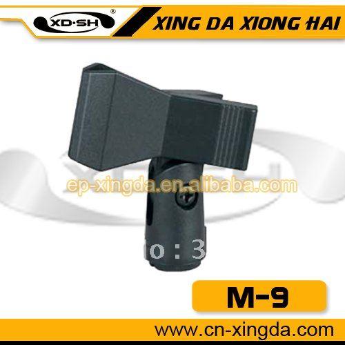 Plastic microphone clip