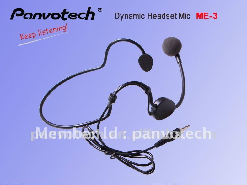 Panvotech Dynamic headset microphone ME3 free shipping