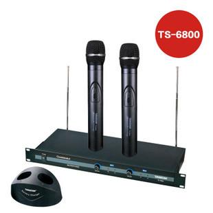 Overcometh ts-6800 wireless handheld microphone belt charge