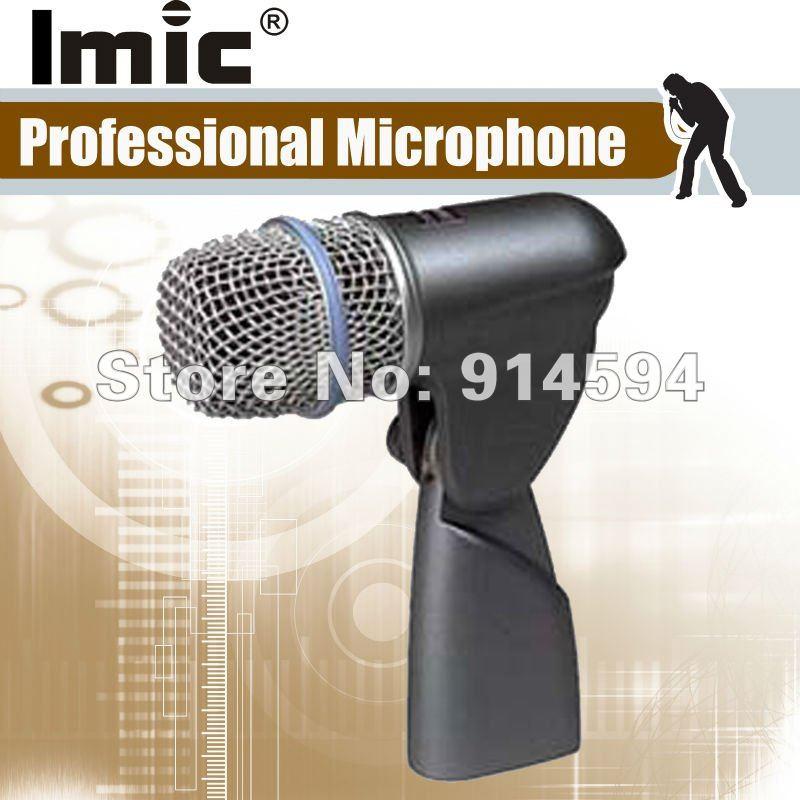 Free Shipping, Greatest Quality Dynamic 56A Drum Kick microphone ,  Instrument Microphone,Neodymium Dynamic, Kick Drum