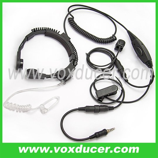 Two way radio accessories Military Throat Microphone Yaesu Vertex wireless radio VX6R/E VX7R/E VX170 VX177 VX120