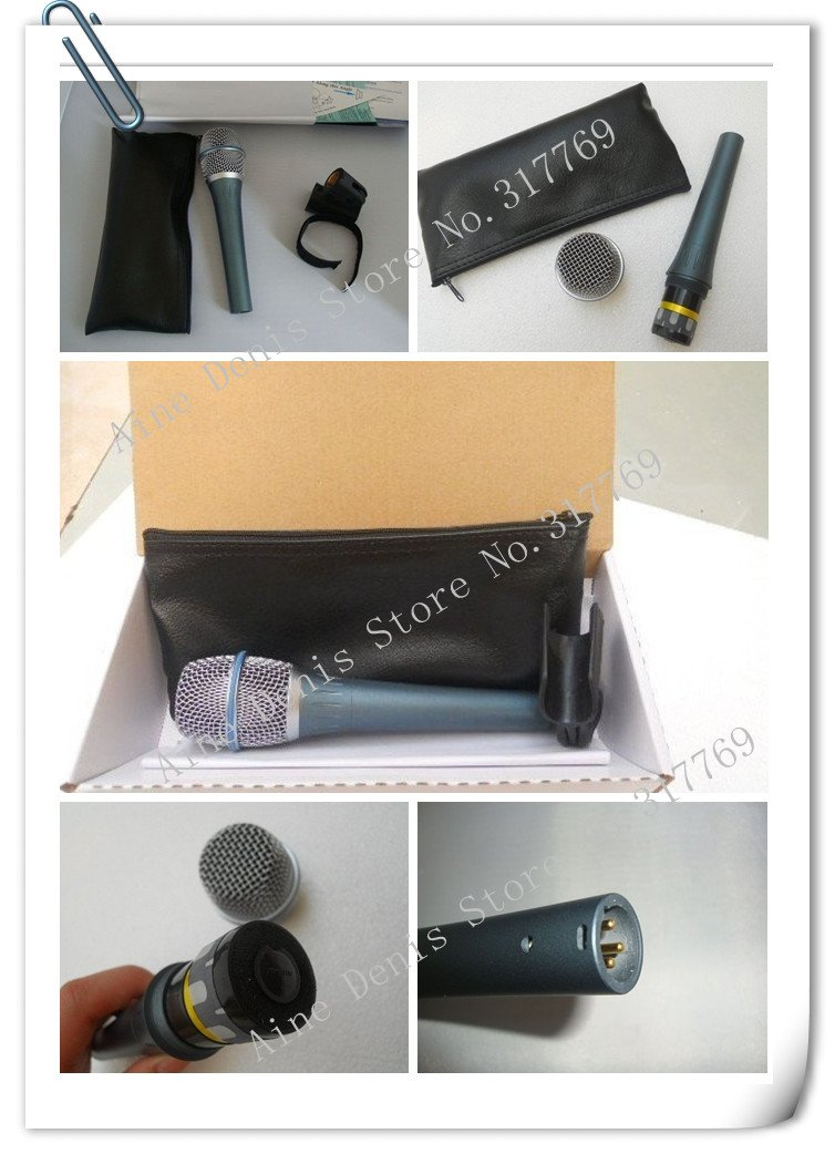 free shipping b*ta  87a microphones new boxed hot selling ^_^