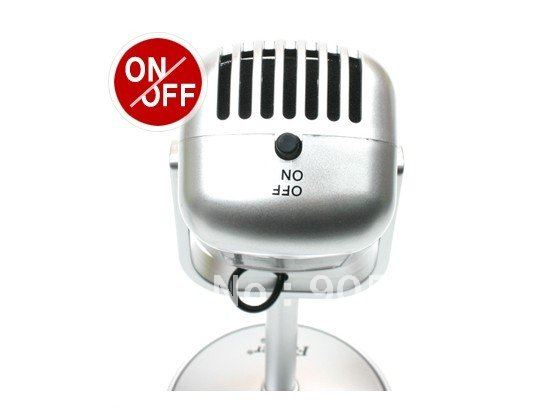Brand New Retro Stereo Classic Microphone for Laptop Personalized MIC Classical Microphones