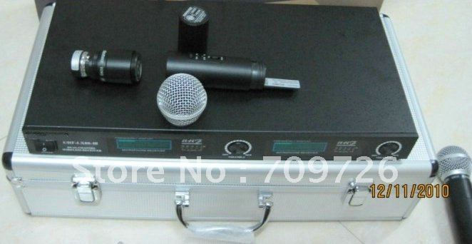 Free shipping LX88III LX88-III LX88 Handheld Microphone Wireless System Aluminum boxes