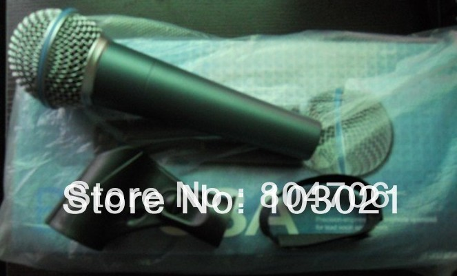 1pcs New Boxed 58A Wired Microphone The Best Quality