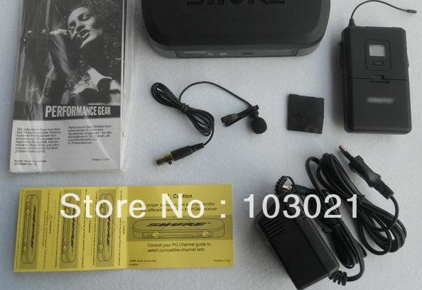 PG14/PG185 Lavalier Microphone Wireless System free shipping 2 sets