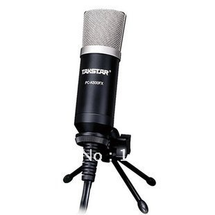 FREE SHIPPING TAKSTAR PC-K500FX 3D Reverberation Professional Condenser Microphones Computer Recording Boutique Hot