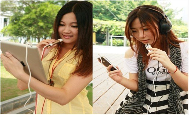 mini microphone for iphone ipad  MP3 MP4 PC PSP  Mini Pocket Microphone Karaoke Player Home KTV For iPhone/iPad/Mp3/Mp4/PC/PSP