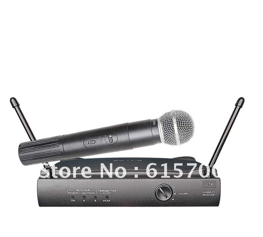 UHF wireless microphone system    UT4-TG diversity wireless mic type   wireless microphone