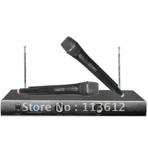 Free shipping teaching  wireless hand microphone with 210To 270MHZ Frequency range HY- 3058