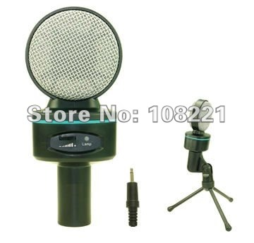 Love the ear Lok SF-930 computer microphone microphone/QQ chat language/sound/with volume adjustment/Recording Mike