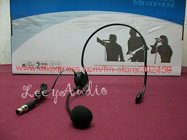 Best quality 3pin Head microphone Head-set microphone headsets Microphone suit for Shu-re sennhei Wireless