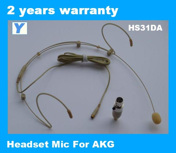 Headset microphone with Flex for wireless auido system-HS31DA