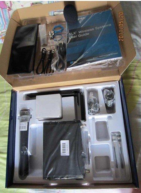 SLX24 BETA58 U-band wireless microphone