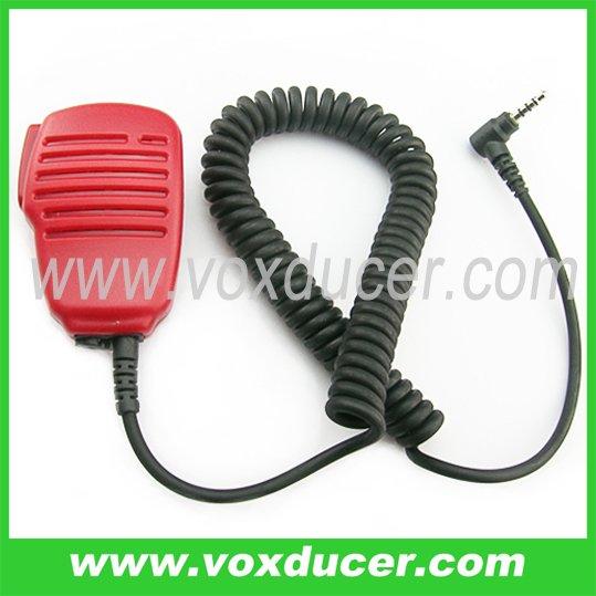 Red speaker mic for Yaesu Vertex radio VX-160 VX-180 VX-210