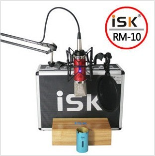 Free shipping Isk rm-10 quality capacitor limited edition professional grade recording microphone