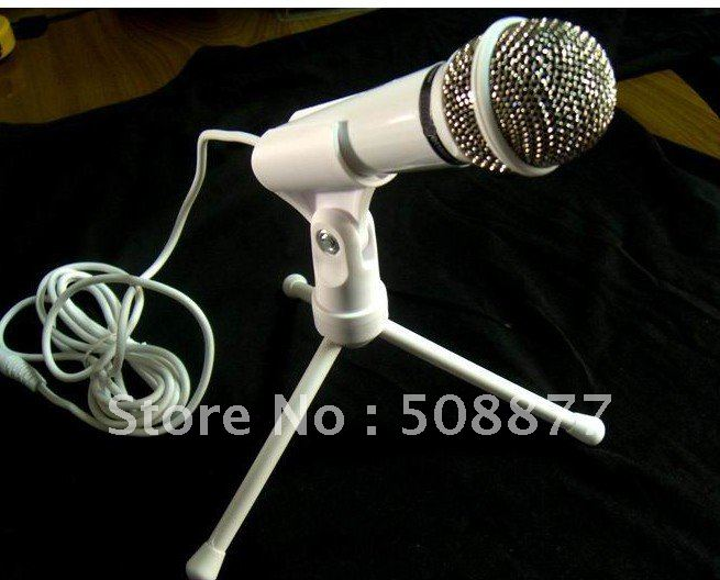 Double microphones head computer microphones capacitance microphone high-quality goods reaches out again