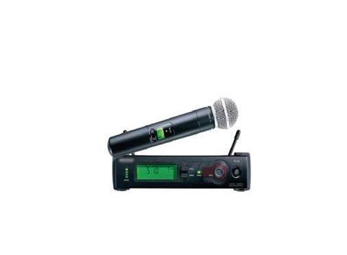 Professional SLX SLX24 / SM 58 wireless microphone system Free shipping