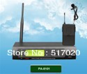 UHF Dual-Channel Rechargeable Wireless Microphone System