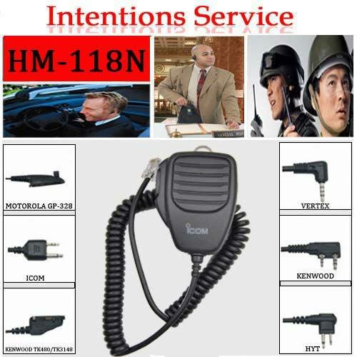 Wholesale price car radio microphone (HM-118N)
