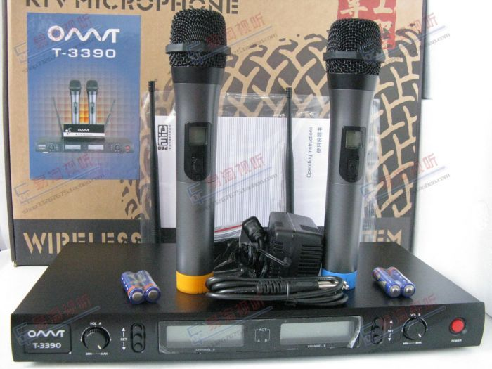 Omt t-3390 professional wireless microphone ktv wireless microphone
