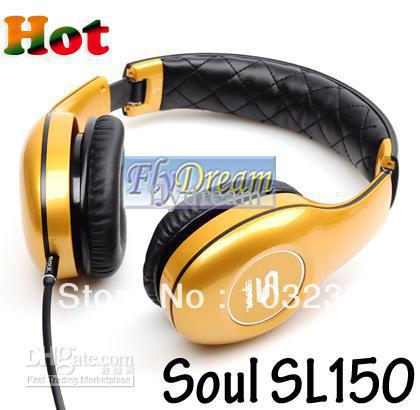 Cool Product NEW Soul SL150 Stereo Headphones with 5 colors For Christmas factory 081