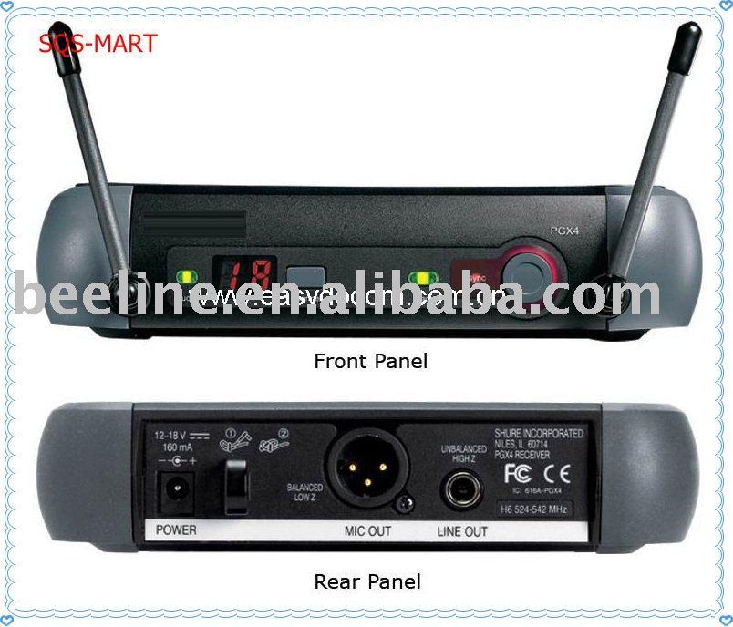 PGX24-SM 58 wireless microphone PGX4/ SM-58 microphone