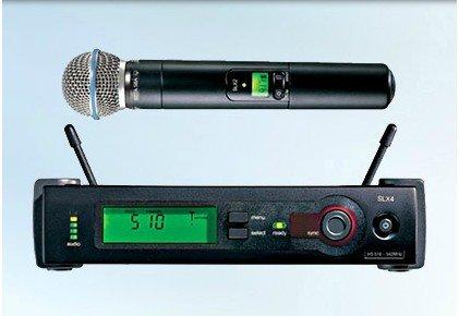 Good Quality SLX-B-eta58 UHF Diversity Wireless Handheld Microphone Mic System