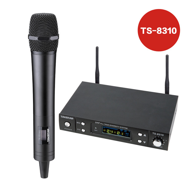 Overcometh ts-8310 professional wireless uhf wireless microphone
