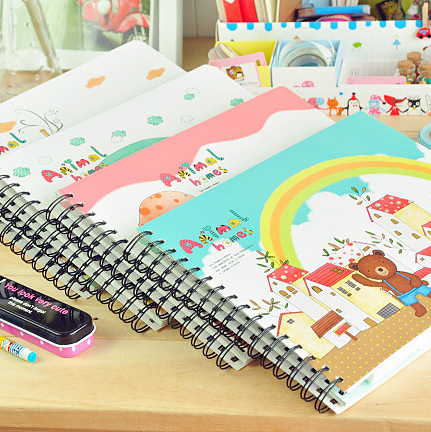 Korea stationery animal baby growth photo album parent-child photo album 4