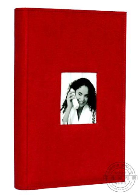 free shipping Quality fabric photo album photo album copy 6 4r 300 - red