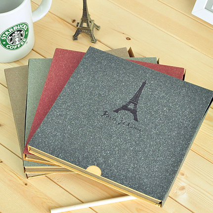 Korea stationery the eiffel tower box diy handmade photo album photo album corner posts