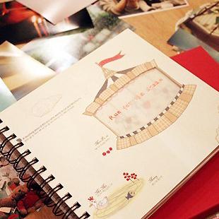Dream time vintage baby photo album diy handmade photo album photo album