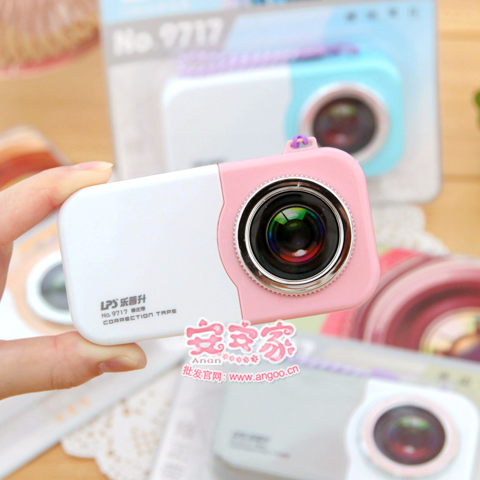 Ann stationery camera style correction tape rasure belt h206